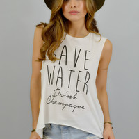 WYLDR Save Water Tee