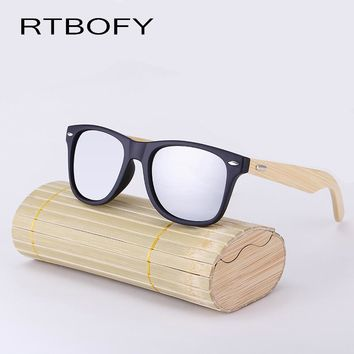 Bamboo Sunglasses Men Wooden glasses Women Brand Designer Original Wood Sun Glasses Women/Men Oculos de sol masculin With box