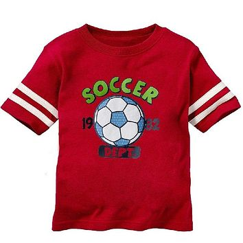 Soccer Baby Boys Short Sleeve Jersey T-Shirts