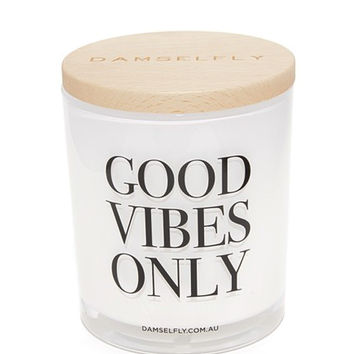 Good Vibes Only XL Candle