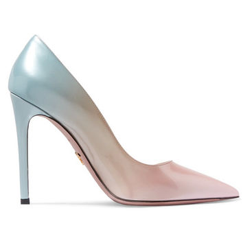 Prada - Ombré patent-leather pumps
