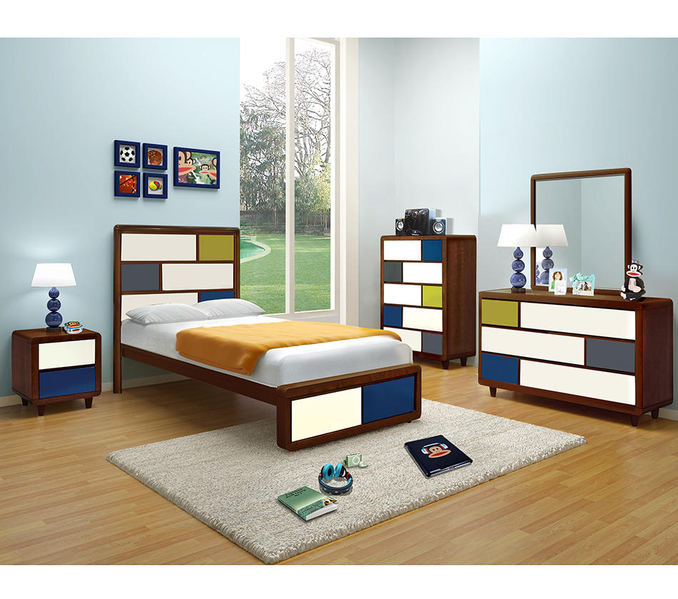 Paul Frank Bedroom In A Box: PAUL FRANK® COLORS BEDROOM CHERRY From Dream Furniture