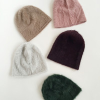 Reinhard Plank Angora Beanie - All Colors