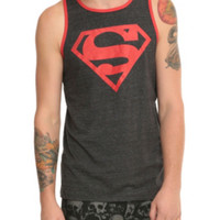 DC Comics Superboy Logo Tank Top