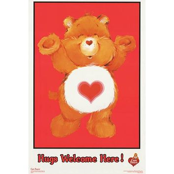 Care Bears Hugs Welcome 2003 Poster 23x35