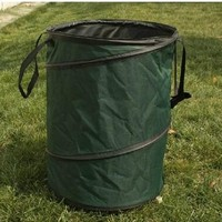 Garden Waste Bin for Collecting leaves and grasses fold-able trash can