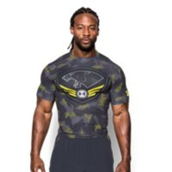 Under Armour Men's UA Combine Training HeatGear Armour Short Sleeve Compression Shirt