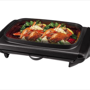 Tayama Electric Griddle with Glass Cover (TG-821)