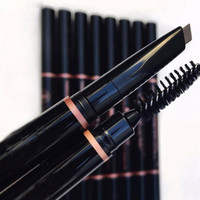 Brand Makeup Brow Definer Double Eyebrow Pencil Free Cutting Automatically Spiral Skinny brow Pencil Eyebrow Enhancer