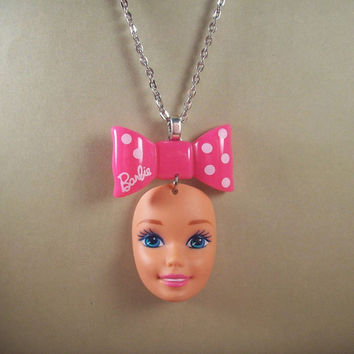 Barbie Bow Necklace
