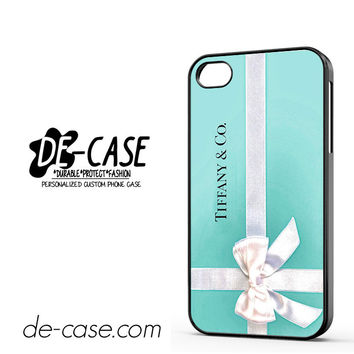 Tiffany And Co Ribbon DEAL-11229 Apple Phonecase Cover For Iphone 4 / Iphone 4S