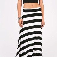 Barred Maxi Skirt | Casual Skirts at Pink Ice