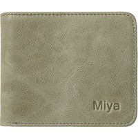 RFID Blocking Genuine Leather Wallets for Women Bifold Mini&Slim Size Wallet