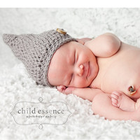 Children Holiday Clothing Newborn Hat Gnome Hat by delightcrochet