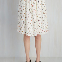 You Look Wonderland Tonight Skirt | Mod Retro Vintage Skirts | ModCloth.com