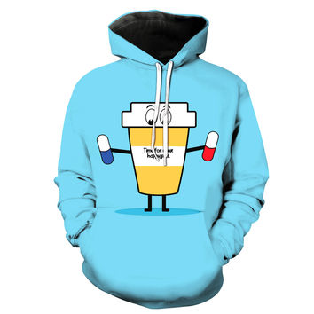 Time For Your Happy Pills Hoodie