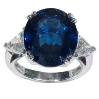 Sapphire and diamond ring - Bernardo Antichita'