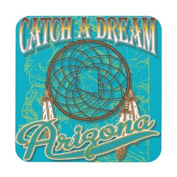 Arizona Dream Catcher Drink Coaster