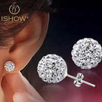 Micro Disco Ball Earring Studs