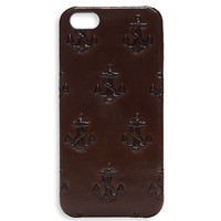 Embossed Anchor iPhone 5 Case