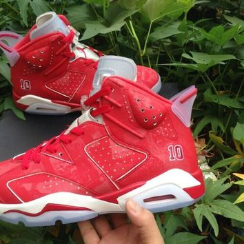 "Air Jordan 6 ""Slam Dunk"" Sport Basketball Shoe"