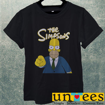 Low Price Men's Adult T-Shirt - The Simpsons Homer Simpson design