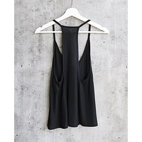 Free People - Slinky Slink Tank - Black