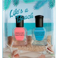 Deborah Lippmann 'Life's a Beach' Nail Color Duo (Limited Edition) ($25 Value) | Nordstrom