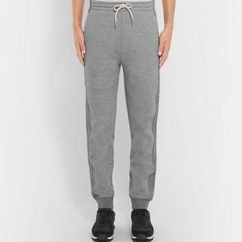 ONETOW balenciaga slim fit tapered fleece back cotton jersey sweatpants 2