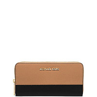 MICHAEL Michael Kors Jet Set Colorblocked Continental Wallet