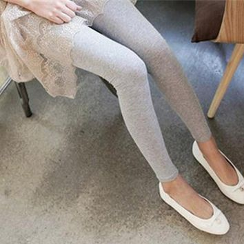 Fashion Women Spring Autumn Stretch Slim Leggings Casual Dance Leggings High Elastic Solid Candy Color Pants