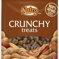 NUTRO Crunchy Dog Treats with Real Peanut Butter