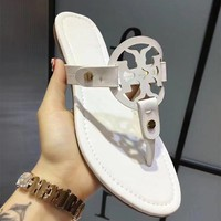 shosouvenir : TORY BURCH Ladies Slippers Casual Fashion Women Sandal Slipper Shoes