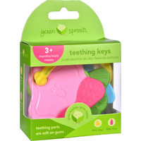 Green Sprouts Teething Keys - Unisex - 3 Months Plus