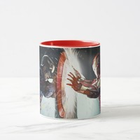 Travel Coffee Cup - Marvel Cartoon ( Red )