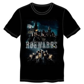 Harry Potter Deathly Hallows Logo Men's Black T-Shirt