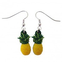 Psych Pineapple Earrings