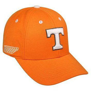 Licensed Tennessee Volunteers NCAA Adjustable Triple Threat Hat Cap Top of the World KO_19_1