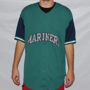 Vintage Seattle Mariners STARTER Baseball by SouthsideThrowbacks