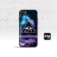 The Eye of Horus Case Cover for Apple iPhone 7 6s 6 SE 5s 5 5c 4s 4 Plus & iPod Touch