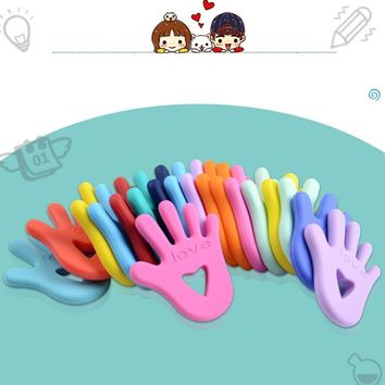 Baby Finger Pattern Molar Teether Toy