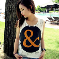Of Mice & Men Women Shirt Girl Tank Tops White - Size S M L