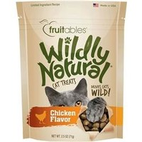 Fruitables Chicken Flavor Wildly Natural Cat Treats