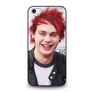 five seconds of summer michael clifford 5sos iphone se case cover  number 1