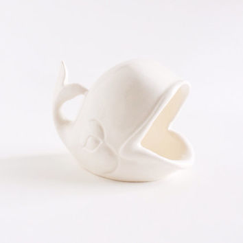 Ring Dish - Whale Ring Holder - Whale Toothpick Holder - Ceramics and Pottery