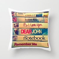 Let's cuddle and watch movies Throw Pillow by beoriginal