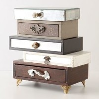 Topsy-Turvy Jewelry Box by Anthropologie in Multi Size: One Size Office