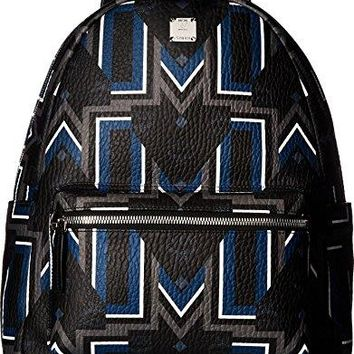 MCM Unisex Stark Gunta Medium Visetos Backpack