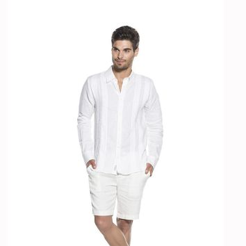 ONDADEMAR SELVATICA SOLIDS LONG SLEEVE SHIRT SHIRT BEACHWEAR