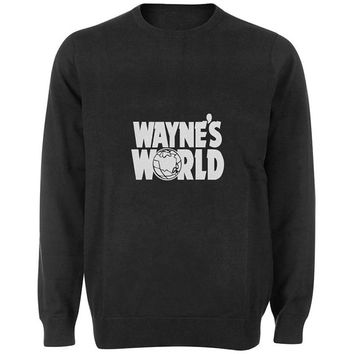 waynes world sweater Black and White Sweatshirt Crewneck Men or Women for Unisex Size with variant colour